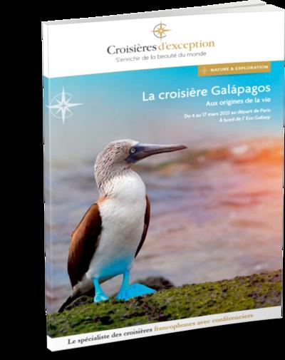 Brochure Galápagos, aux origines de la vie 3D