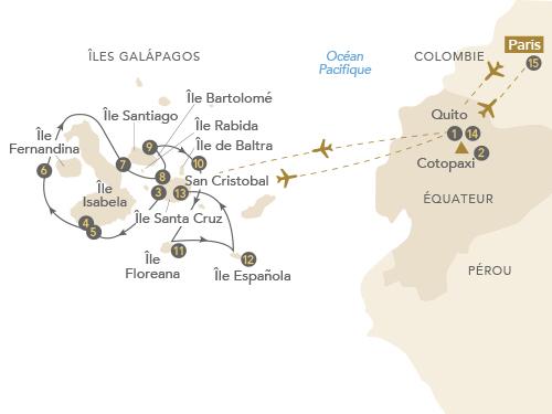 Itinéraire de Galápagos, aux origines de la vie