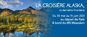 Prenez part à une fabuleuse croisière en Alaska à bord du MS Maasdam, avec un accompagnement francophone et de passionnantes conférences