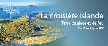 Les richesses géologiques de l'Islande promettent d'être une fois de plus au-rendez-vous de ce voyage exceptionnel, au départ de Genève En voici un aperçu…