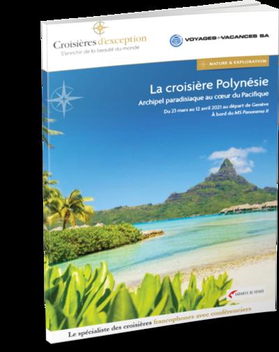 Polynésie, archipel paradisiaque au cœur du Pacifique, au départ de Genève