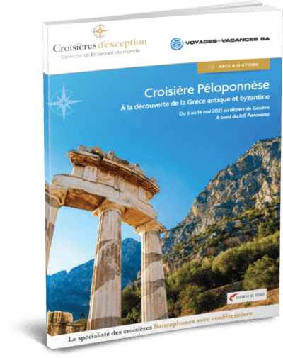 Péloponnèse, à la découverte de la Grèce antique et byzantine, au départ de Genève