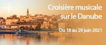 Croisière musicale avec conférenciers et accompagnement francophone sur le Danube jusqu'à la mer Noir, au départ de Genève, par Voyages d'exception