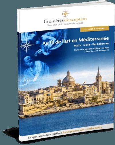 Au fil de l'art en Méditerranée : Malte - Sicile - Îles Éoliennes