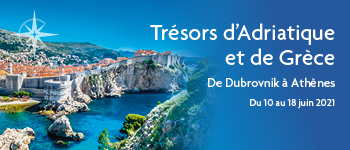 Embarquez avec Croisières d'exception pour un somptueux voyage à la découverte des joyaux de la mer Adriatique et Ionienne. Au départ de Paris