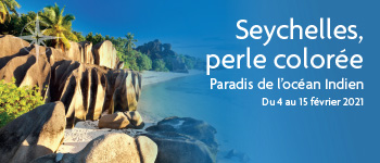 Embarquez pour la croisière Seychelles, perle colorée et découvrez le paradis de l'océan Indien au départ de Bruxelles