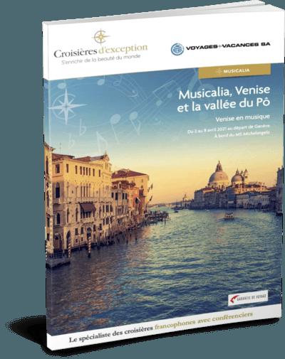 Musicalia, Venise et la vallée du Pô au départ de Genève
