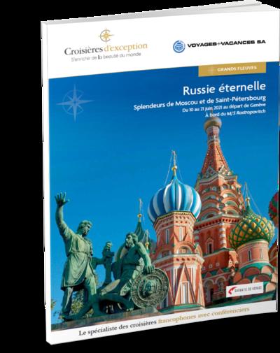 Russie éternelle, splendeurs de Moscou et de Saint-Pétersbourg au départ de Genève