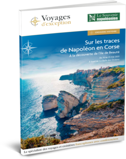 Brochure Sur les traces de Napoléon en Corse, à la découverte de l'île de Beauté 3D