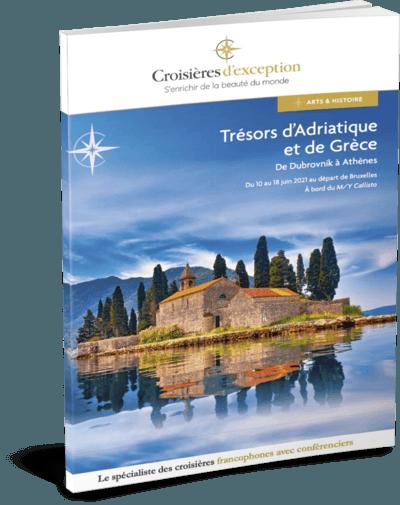 Trésors d'Adriatique et de Grèce (départ Bruxelles)
