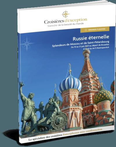 Russie éternelle, splendeurs de Moscou et de Saint-Pétersbourg départ Bruxelles