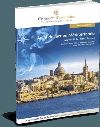 Au fil de l'art en Méditerranée : Malte - Sicile - Îles Éoliennes départ Bruxelles