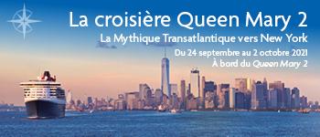 La Mythique Transatlantique vers New York vous promet de belles surprises à bord ainsi que lors de votre arrivée vers la ville américaine. Au départ de Paris