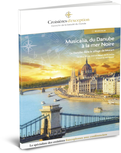 Musicalia Danube à la mer noire au départ de Bruxelles