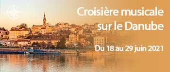 Croisière musicale avec conférenciers et accompagnement francophone sur le Danube jusqu'à la mer Noire par Croisières d'exception. Départ Bruxelles