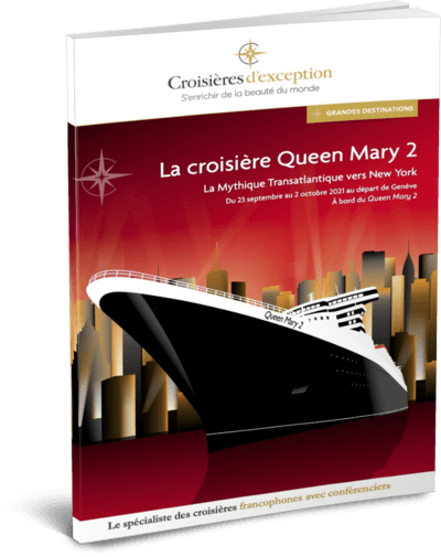 La croisière Queen Mary 2 au départ de Genève