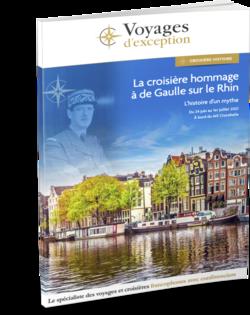 La croisière hommage à de Gaulle sur le Rhin