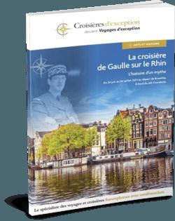 La croisière de Gaulle sur le Rhin départ Bruxelles