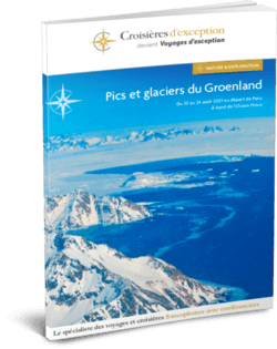 Pics et glaciers du Groenland