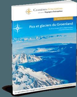 Brochure Pics et glaciers du Groenland 3D