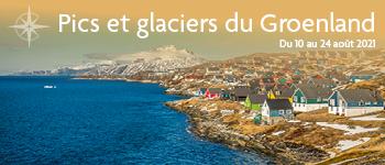 Partez pour un incroyable voyage au Groenland en compagnie d'une équipe francophone et de conférenciers passionnants. Une croisière unique !