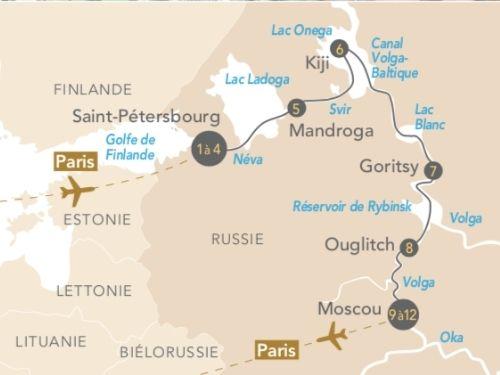 Itinéraire de Russie en musique, de Saint-Pétersbourg à Moscou, sur les traces des grands compositeurs russes