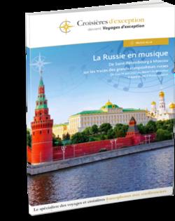 Russie en musique, de Saint-Pétersbourg à Moscou, sur les traces des grands compositeurs russes au départ de Bruxelles