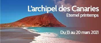 À bord du navire La Belle des Océans, vous partirez à la découverte de l'archipel des Canaries en compagnie d'un guide naturaliste