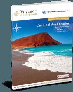 Brochure L'archipel des Canaries, au départ de Genève 3D