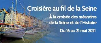 Embarquez pour une croisière captivante sur la Seine avec des intervenants passionnants tel que Dimitri Casali
