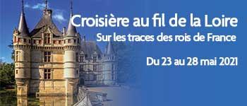 Partez pour une croisière au fil de la Loire avec Franck Ferrand, Voyages d'exception vous propose une croisière sur ce fleuve chargé d'histoire