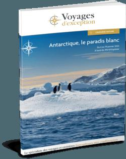 Antarctique, le paradis blanc départ Genève