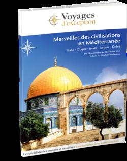 Brochure Merveilles des civilisations en Méditerranée au départ de Genève 3D