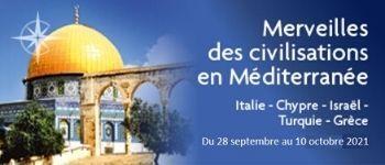 Et si vous vous offriez une croisière en Méditerranée placée sous le signe de l'Histoire ? 3 conférenciers de renom rendront votre voyage encore plus captivant