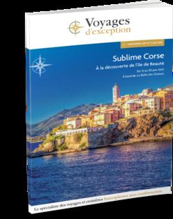 Brochure Sublime Corse, à la découverte de l'île de Beauté 3D