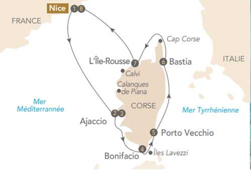 Itinéraire de Sublime Corse, à la découverte de l'île de Beauté