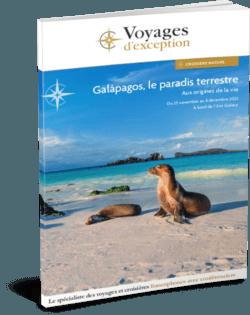 Galápagos, le paradis terrestre, au départ de Genève