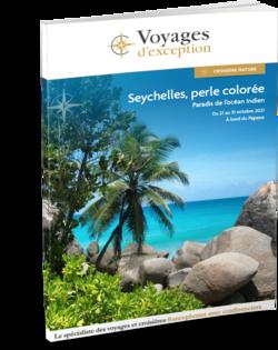 Brochure Seychelles, perle colorée : paradis de l'océan Indien 3D