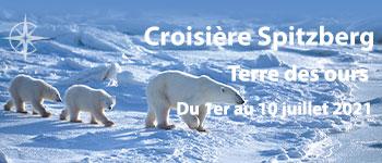 Voyages d'exception vous invite à un fabuleux voyage aux confins des trésors cachés du Spitzberg et de l'Arctique