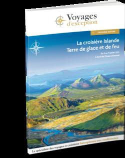 Brochure La croisière Islande, terre de glace et de feu 3D