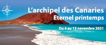 À bord du navire La Belle des Océans, vous partirez à la découverte de l'archipel des Canaries en compagnie d'un guide naturaliste et au départ de Genève