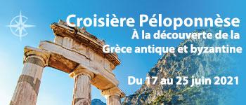 Voyages d'exception vous invite à embarquer pour une magnifique odyssée autour de la péninsule du Péloponnèse En juin 2021 au départ de Genève