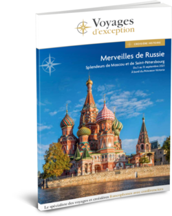 Merveilles de Russie , Croisière de Moscou à Saint-Pétersbourg