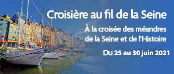 Partez pour une croisière captivante sur la Seine avec des intervenants passionnants tel que Dimitri Casali. Départ en juin 2021