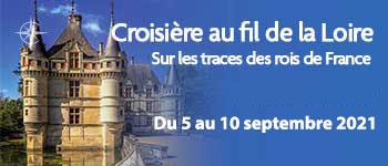 Embarquez sur une croisière au fil de la Loire aux côtés de Franck Ferrand, Voyages d'exception vous propose une croisière sur ce fleuve chargé d'histoire