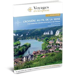 Brochure Croisière histoire sur la Seine 3D