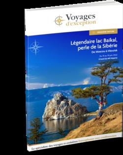 Croisière sur le lac Baïkal, la perle de la Sibérie