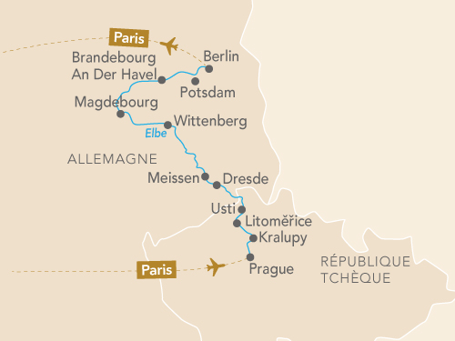 Itinéraire de L'Elbe et le Moldau en musique : de Prague à Berlin au cœur du Romantisme allemand et de l'âme de la Bohème