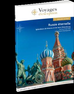 Russie éternelle, splendeurs de Moscou et de Saint-Pétersbourg