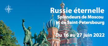 Voyages d'exception vous propose un superbe voyage à bord du M/S Rotropovitch. Un Russie sublime au fil de la Volga et de la Neva avec conférences